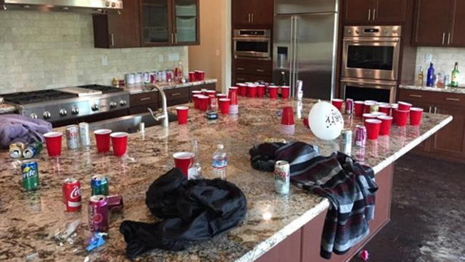 Couple Returns To Find Strangers Partying & Smoking Inside Their Home